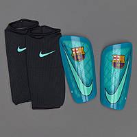 Футбольные щитки Nike Mercurial Lite FCB SP2090-387 (Оригинал)