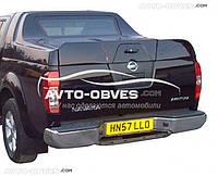 Задняя крышка в пикап Grandbox для Nissan Navara вариант №1