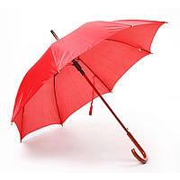 Зонт трость полуавтомат Клюква