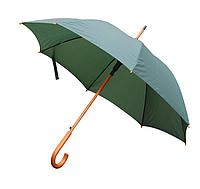 Зонт трость полуавтомат Темно-зеленый
