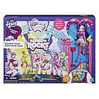 Игровой набор Май Литл Пони Рок-концерт (My Little Pony Equestria Girls Rainbow Rocks Mane Event Stage), фото 2