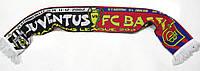 Шарф футбольный JUVENTUS vs BASEL 18-03-2003