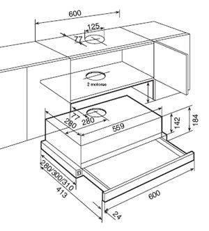 Вытяжка кухонная Teka  TL1 62 білий 40474212, фото 2