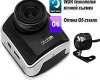 Автомобильный видеорегистратор  HD  Silver Stone F1-А110 на 2 камеры