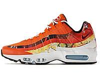 Мужские кроссовки Nike Air Max 95 Fox Orange, найк аир макс 95