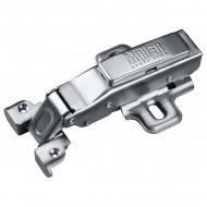 Петля Clip-On 95° для алюминиевого профиля наружная с доводчиком Muller profi line