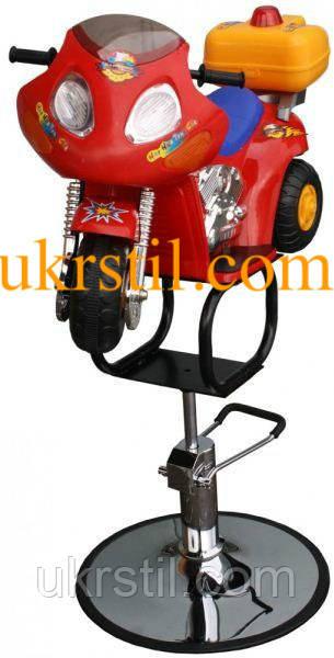 Детское парикмахерское кресло мотоцикл ZD-2109B
