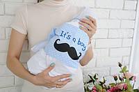 Летний набор на выписку It's a boy