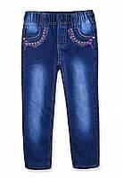 Зимние джинсы на мальчика на флисе (681), р.110