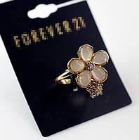 Красивое стильное женское кольцо с цветами от Forever 21