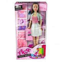 """Кукла Ася 35083 """"Я люблю обувь"""" брюнетка с аксессуарами"""