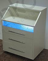 Косметологическая тележка с бактерицидной лампой К0032