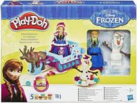 Пластилін Play-Doh Крижане серце (Play-Doh Frozen, Пластилин Плей До Холодное сердце)