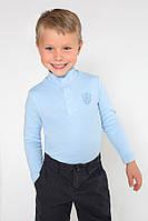 Детский гольф для мальчика на застежке (голубой), фото 1