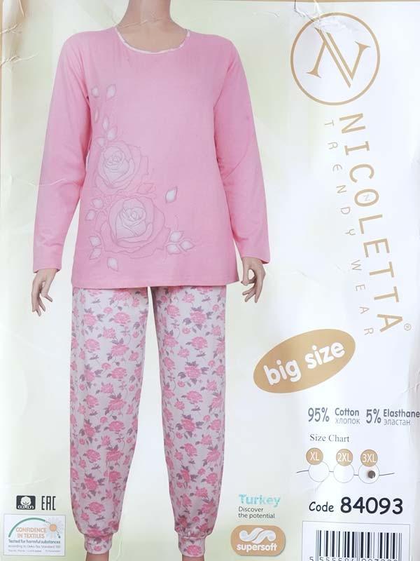 Пижама  батал женская  ТМ Nicoletta 84093 XXXL
