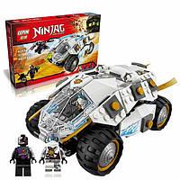 Конструктор Lepin 06040 Титановый Вездеход. Аналог Лего 70588, 371 деталь, интересные игрушки