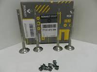Выпускной клапан (4шт) на Renault Kangoo II 2008,Renault logan 1.6,Renault Duster K4J K4M-> 1.6 -7701473354