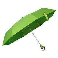 Зонт складной автомат Зеленый