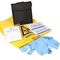 Текстильный подсумок First Aid kit Small (с наполнением). Полиция Великобритании, оригинал.