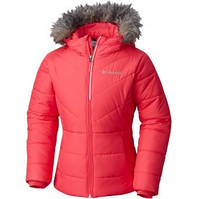 Приталенная зимняя куртка Columbia 240гр утеплителя РОСТ 140-150см