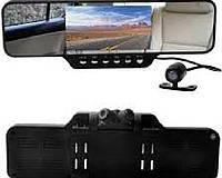 Автомобильное зеркало с видеорегистратором HD Silver Stone F1-DVR10 на две видеокамеры