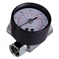 Воздушный регулятор, 160 PSI с измерителем давления