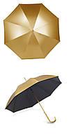 Зонт трость полуавтомат Золото
