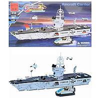 Конструктор BRICK 113 Военный корабль 990 деталей