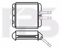 Радиатор печки Daewoo Lanos (Деу Ланос) 98-/LEGANZA 97-03/NUBIRA 97-99 (J100) производитель FPS