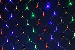 Гирлянда сетка 240 led(цветная)