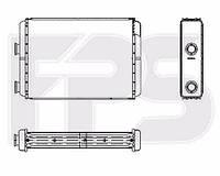 Радиатор печки Fiat Doblo (Фиат Добло) 01-09 производитель FPS