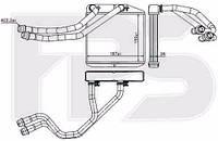 Радиатор печки Fiat Doblo (Фиат Добло) 10-, OPEL COMercedes (Мерседес)O 12- производитель NISSENS
