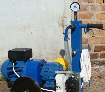 Доильный аппарат сухого типа на две коровы АИД-2 с нержавеющими стаканами