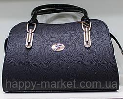Сумка женская классическая каркасная LUCK SHERRYS  Ажур 17-2115-2, фото 2