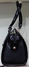 Сумка женская классическая каркасная LUCK SHERRYS  Ажур 17-2115-2, фото 3