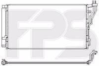 Радиатор кондиционера Hyundai Sonata (Хюндай Соната) 11- (YF), Kia (Киа) OPTIMA 11- производитель NRF