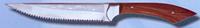 Нож мясника с пилочкой Спутник (27 см)