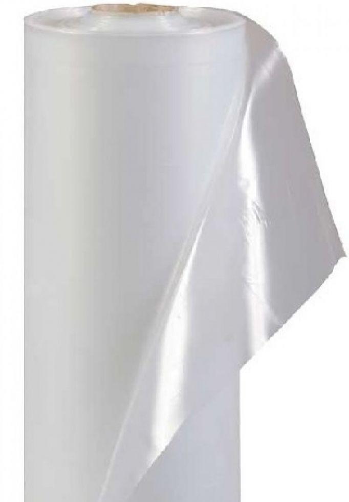 Плёнка белая полиэтиленовая прозрачная тепличная 3 м * 100 м 60 мкм