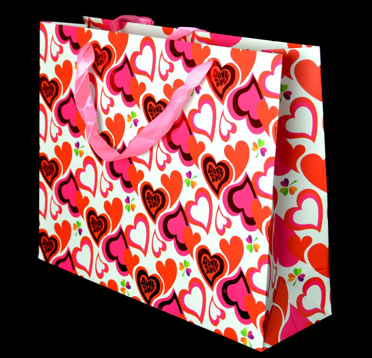 Пакет подарочный m-0004
