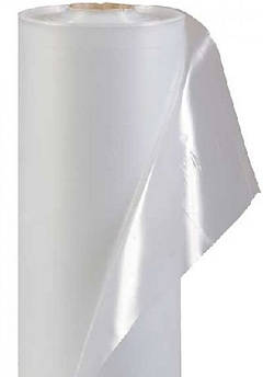 Плёнка белая полиэтиленовая прозрачная тепличная 3 м * 50 м 200 мкм