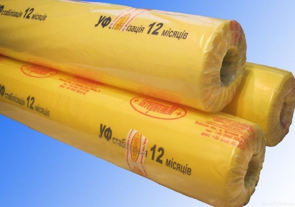 Плёнка тепличная Интеркомм с УФ-стабилизацией на 12 месяцев 50 м * 6 м 80 мкм