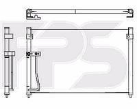 Радиатор кондиционера Mazda 626 97-02 (GF) (GW) производитель NISSENS