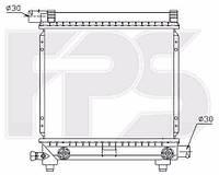 Радиатор Mercedes 124 84-96 (E-CLASS)/190 82-93 (W201) производитель FPS