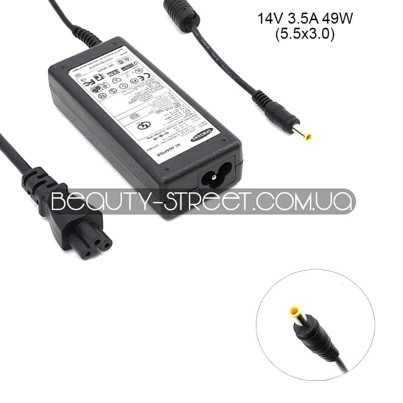 Блок питания для монитора Samsung 14V 3.5А 49W 5.5x3.0 (B)