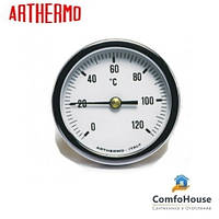 Термометр Arthermo AR-T/B 63 (Ø63 мм, гильза 50 мм, 0-120°С)