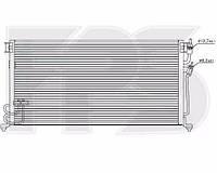 Радиатор кондиционера Mitsubishi (Мицубиси) LANCER VIII 98-03 производитель NISSENS