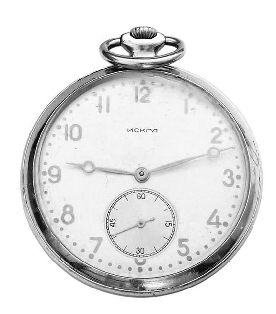 Искра карманные часы