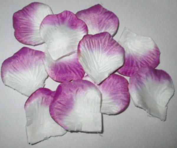 Лепестки сиренево-белые
