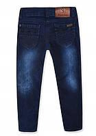 Зимние джинсы на девочку на флисе Глория, р.98