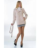 Пальто женское модель №15 жакет бежевое (весна/осень), р.40-48